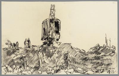 Sluiting der Keerdijk bij Urk, 2 en 3 oktober 1939