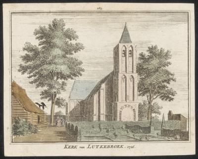 Kerk van Lutkebroek 1726