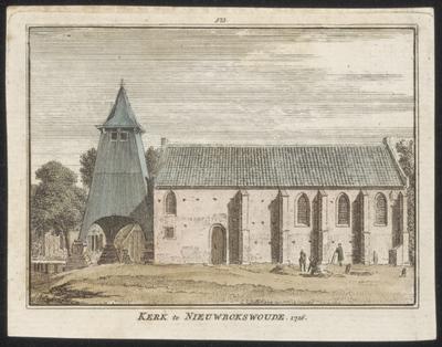 Kerk te Nieuwbokswoude 1726