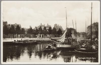 Harlingen. Groote Sluis Noorderhaven te Harlingen