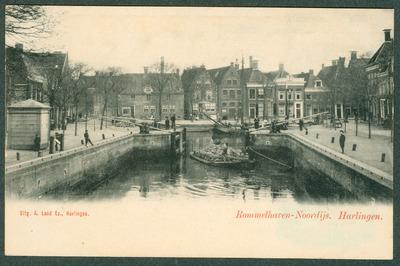 Rommelhaven-Noordijs. Harlingen. Grote Sluis