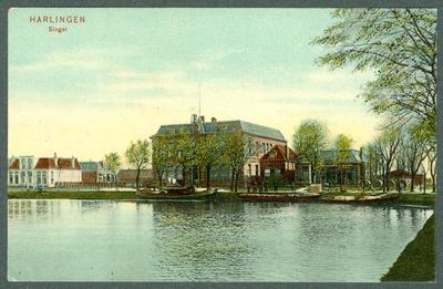 Harlingen, Singel met ambachtschool