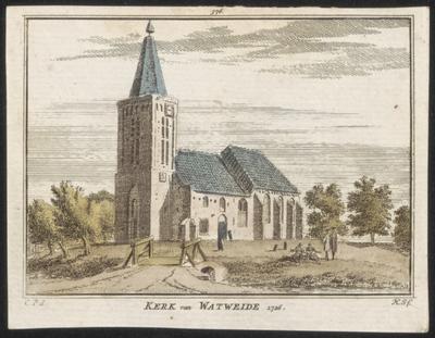 Kerk van Haringhuizen 1726