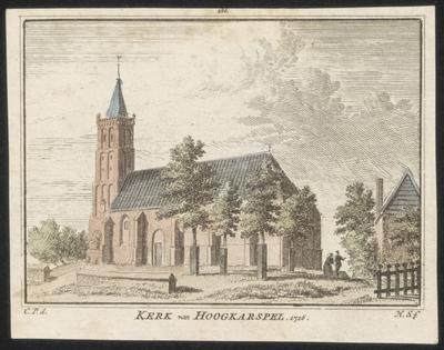 Kerk van Hoogkarspel. 1726.