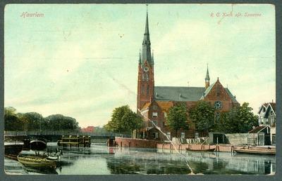 Haarlem R.C. Kerk a/h Spaarne