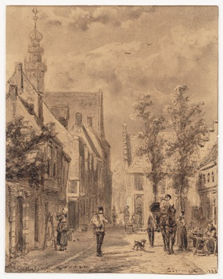 Stadsgezicht te Hoorn