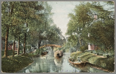 Hooitransport te Giethoorn