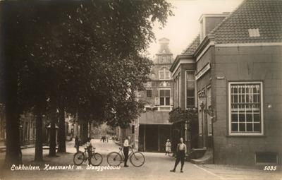 Enkhuizen, Kaasmarkt m. Waaggebouw