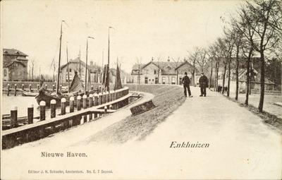 Nieuwe Haven. Enkhuizen