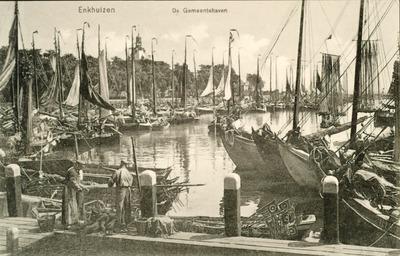 Enkhuizen De Gemeentehaven