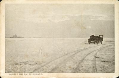 WINTER 1929 OM SCHOKLAND.