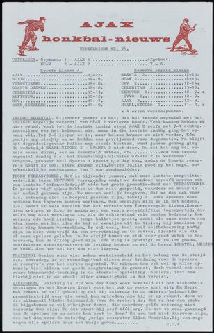 Honkbal nieuws (1963-1972) 1969-08-18