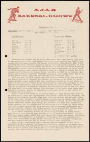 Honkbal nieuws (1963-1972) 1967-07-24