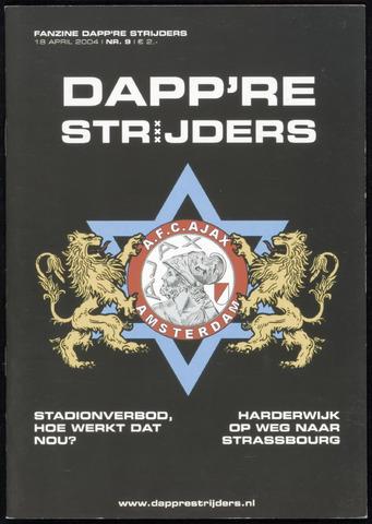 Fanzine Dapp're Strijders (2003-2005) 2004-04-19