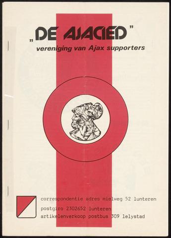 Clubblad De Ajacied (1997-2009) 1979-02-01