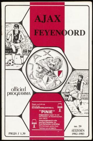 Programmaboekjes (vanaf 1934) 1983-05-01