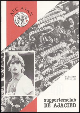 Clubblad De Ajacied (1997-2009) 1984