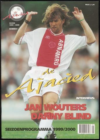 Clubblad De Ajacied (1997-2009) 1999-09-01
