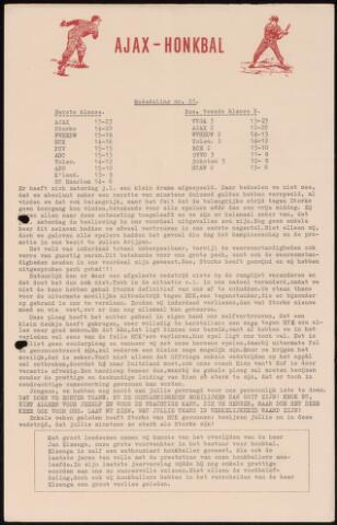 Honkbal nieuws (1963-1972) 1963-08-26