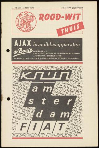 Programmaboekjes (vanaf 1934) 1970-05-07