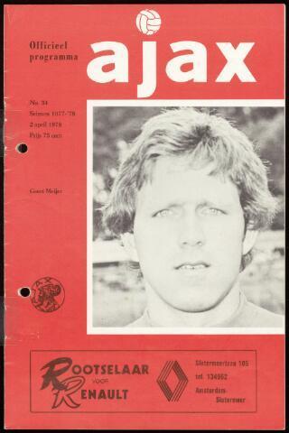 Programmaboekjes (vanaf 1934) 1978-04-02
