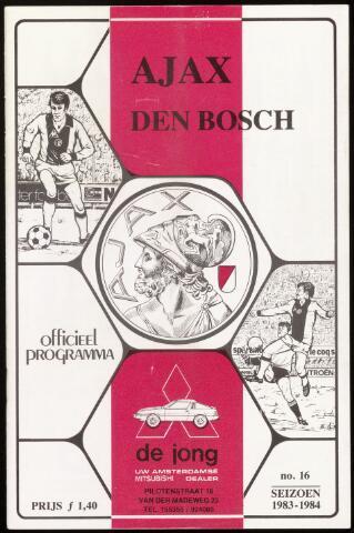 Programmaboekjes (vanaf 1934) 1984-04-01