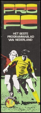 Programmaboekjes (vanaf 1934) 1981-09-19