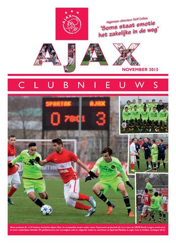 Clubnieuws Ajax (vanaf 1916) 2015-11-01