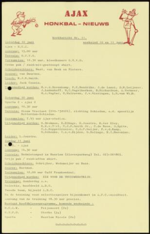 Honkbal nieuws (1963-1972) 1972-06-10