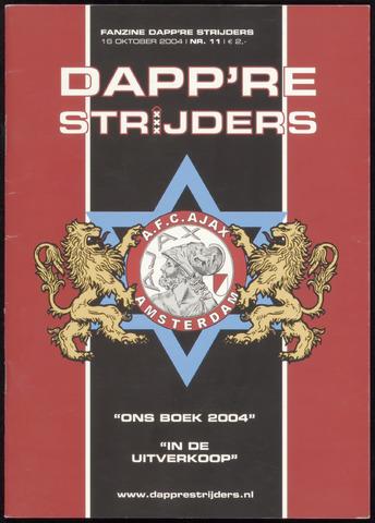 Fanzine Dapp're Strijders (2003-2005) 2004-10-16