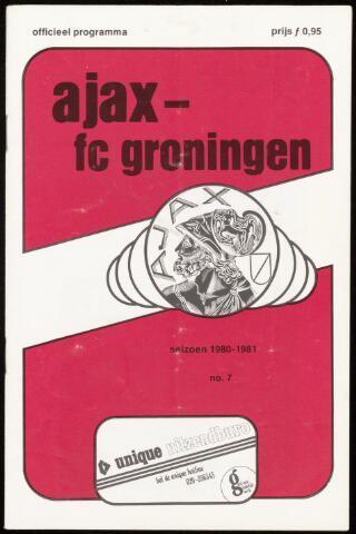 Programmaboekjes (vanaf 1934) 1980-09-28