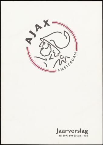 Jaarverslagen Vereniging (vanaf 1964) 1998-06-30