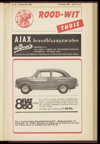 Programmaboekjes (vanaf 1934) 1967-12-07