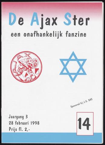 Fanzine De Ajax Ster (1996-2001) 1998