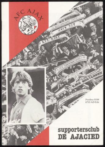 Clubblad De Ajacied (1997-2009) 1983-11-01