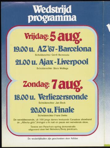 Programmaboekjes (vanaf 1934) 1977-08-05