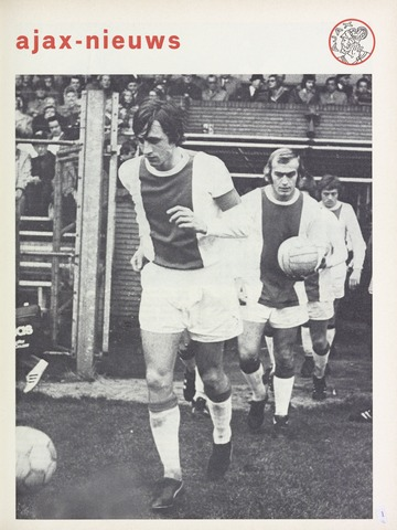 Clubnieuws Ajax (vanaf 1916) 1972-10-01
