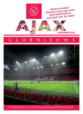Clubnieuws Ajax (vanaf 1916) 2020-11-01
