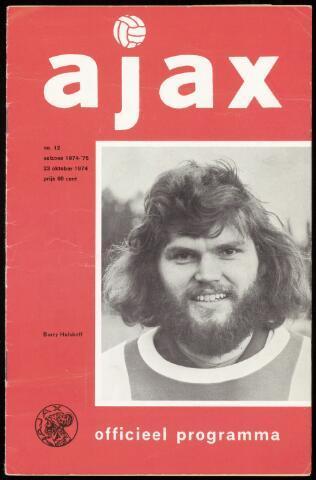 Programmaboekjes (vanaf 1934) 1974-10-23