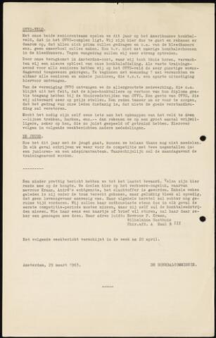 Honkbal nieuws (1963-1972) 1963-03-29
