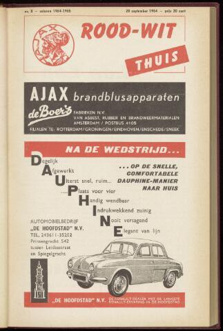 Programmaboekjes (vanaf 1934) 1964-09-20