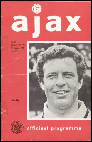Programmaboekjes (vanaf 1934) 1976-01-11