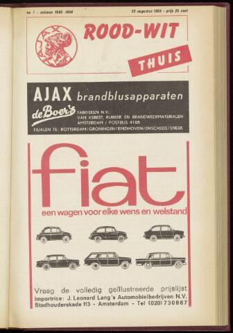 Programmaboekjes (vanaf 1934) 1965-08-22