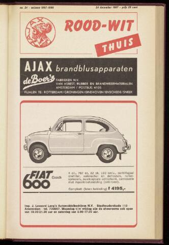 Programmaboekjes (vanaf 1934) 1967-12-24