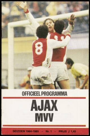 Programmaboekjes (vanaf 1934) 1984-09-05