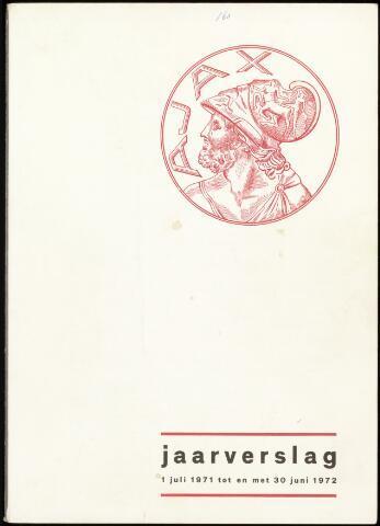 Jaarverslagen Vereniging (vanaf 1964) 1972-06-30