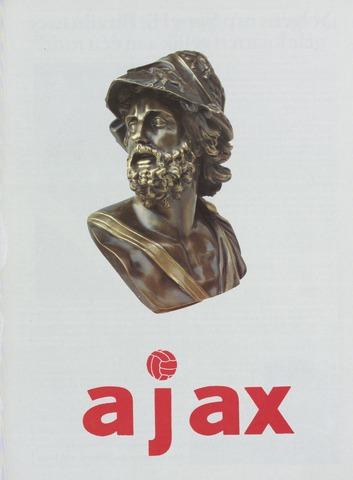 Clubnieuws Ajax (vanaf 1916) 1986-10-08
