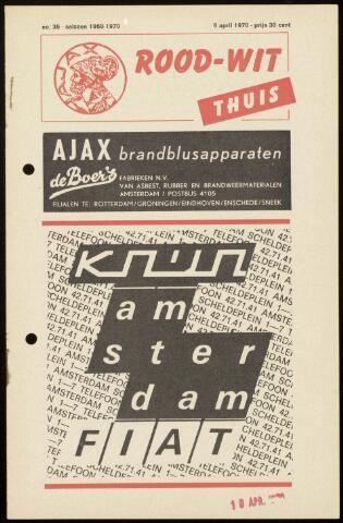 Programmaboekjes (vanaf 1934) 1970-04-05