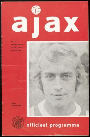Programmaboekjes (vanaf 1934) 1973-10-28