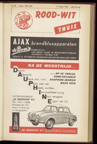 Programmaboekjes (vanaf 1934) 1964-10-11